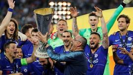 Gabung Juventus, Sarri Buka Peluang Tambah Trofi