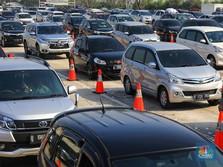 186.602 Kendaraan Tinggalkan Jakarta, Ini Titik Sebarannya