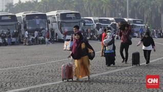 Tiket Pesawat Mahal, Mudik Pakai Bus di Sumatra Laris Manis