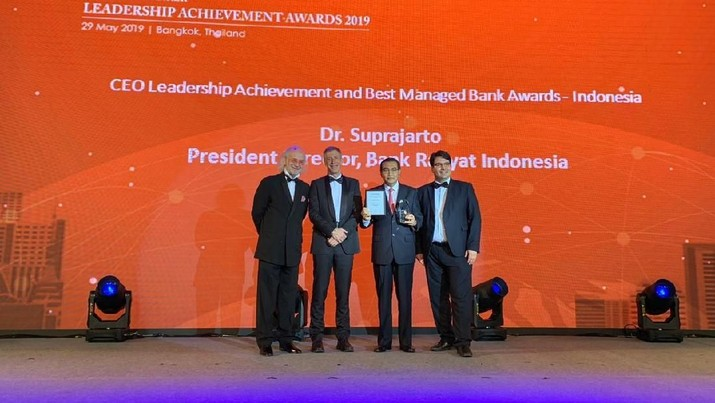 Bos BRI Raih The Asian Banker CEO Leadership Achievement