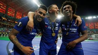 Kisah Hazard Tinggalkan Grup Whatsapp Chelsea
