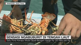 VIDEO: Sensasi Ngabuburit di Tengah Laut