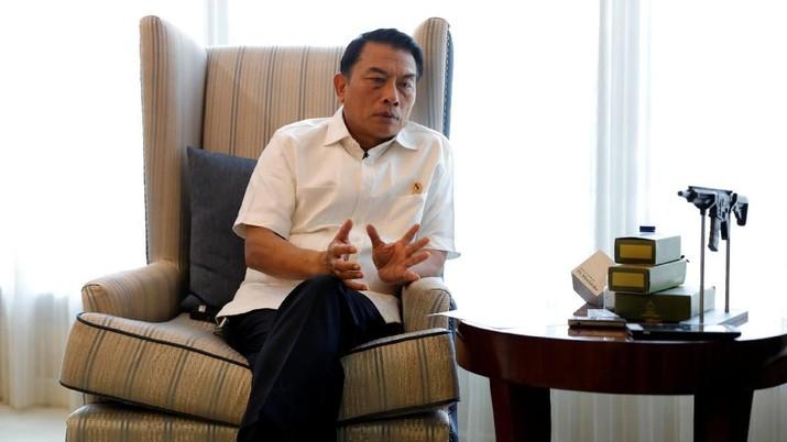Hal tersebut dikemukakan Moeldoko di Bina Graha, Kompleks Istana Kepresidenan, Jakarta, Rabu (12/9/2019).
