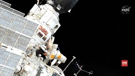 VIDEO: Aksi Spacewalk Astronaut Rusia di Luar ISS