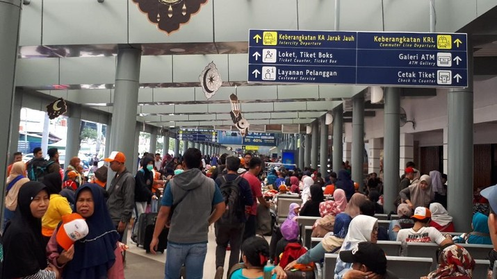 Pakai Kereta Api, 2.000 Pemudik Pulang Kampung Bareng BNI