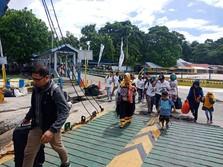 Welcome Back! 509.644 Pemudik Menyeberang Kembali ke Jawa