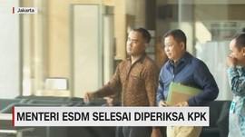 VIDEO: Menteri ESDM Selesai Diperiksa KPK