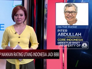 S&P Naikkan Rating Utang Indonesia Jadi BBB