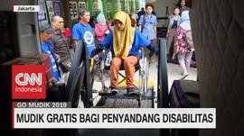 VIDEO: Mudik Gratis Bagi Penyandang Disabilitas