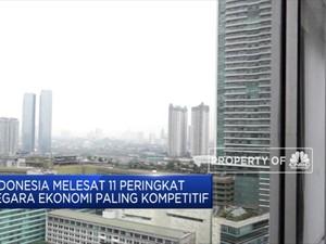 Indonesia Melesat 11 Peringkat Negara Ekonomi Paling Kompetit