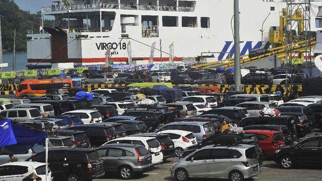 H+5 Lebaran, 675 Ribu Pemudik Arus Balik ke Pelabuhan Merak