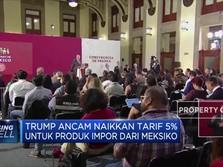Trump Ancam Naikkan Tarif Produk Impor Dari Meksiko