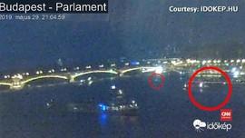 VIDEO: Kapal Pesiar Terbalik di Hungaria, Turis Diduga Tewas