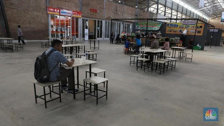 Waralaba-waralaba asing di rest area jadi sorotan Jokowi