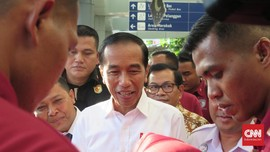 Jokowi: Penumpang Kereta Naik Empat Persen Saat Lebaran 2019