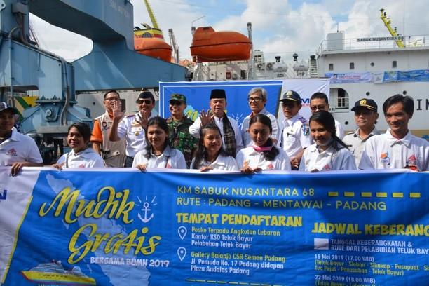 Pemudik Ikut Mudik Bareng BUMN ke Sejumlah Daerah di Indonesia