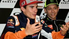 Rossi dan Marquez di Jakarta pada Hari yang Sama