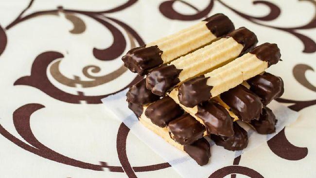 Resep Kue Kering Lebaran Chocolate Dipped Peanut
