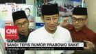 VIDEO: Sandiaga Tepis Rumor Prabowo Sakit