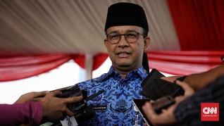 Anies Minta Warga 'Lukis' Jakarta Jadi Lebih Ramah pada Semua