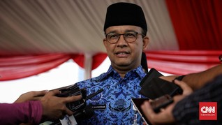 Anies Tanam 100 Ribu Bougenville untuk Serap Polusi Jakarta