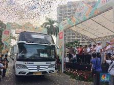 Pakai 200 Bus, BNI Berangkatkan 8.000 Pemudik