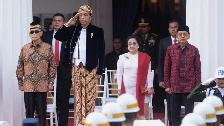 Jokowi di Upaca Hari Pancasila (Ist:Rusman - Biro Pers Sekretariat Presiden)