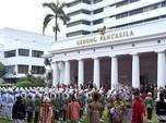 Sebelum Melayat ke Cikeas, Jokowi Peringati Hari Pancasila