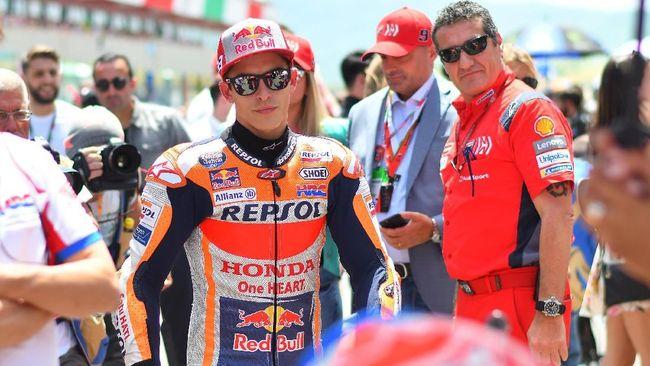 MotoGP Italia: Marquez Puas Menjauh dari Dovizioso dan Rossi