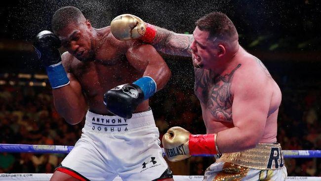 Tanding Ulang Ruiz vs Joshua Digelar Akhir Tahun 2019
