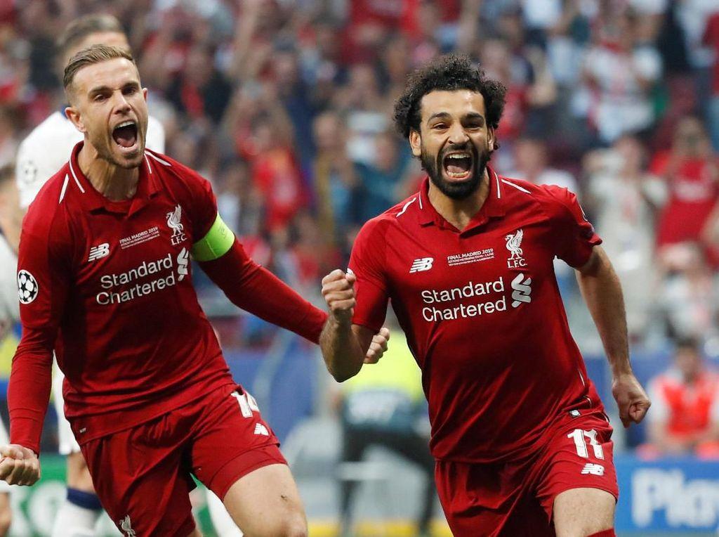 Liverpool dan New Balance menjalin kerja sama sejak 2016 hingga 2020 dengan nilai kontrak sebesar 45 juta pounds atau sekitar Rp 810 miliar. (Foto: Susana Vera/REUTERS)
