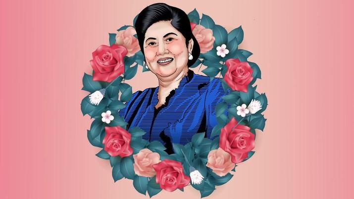 Marty Natalegawa mengenang mendiang Ani Yudhoyono sebagai sosok sebagai duta negara yang terbuka.