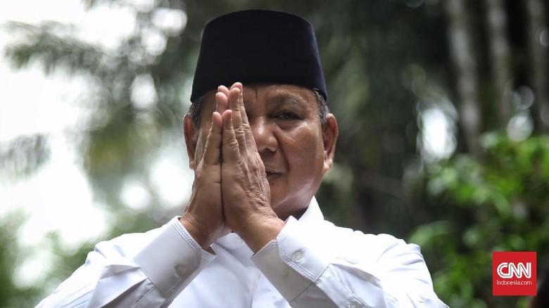 Prabowo Gelar Nobar Pembacaan Hasil Putusan MK di Kertanegara
