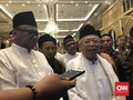 Ma'ruf Amin Akan Rayakan Idul Fitri Bersama Jokowi di Istana