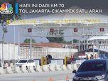 Catat! Hari ini KM 70 Jalan Tol Jakarta-Cikampek Satu Arah