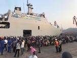 Emiten Ini Berangkatkan 678 Pemudik via Kapal Laut