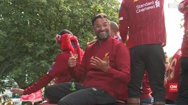 VIDEO: Tingkah Klopp di Parade Liverpool Juara Liga Champions