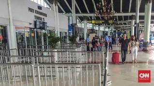 Bandara Soekarno-Hatta Cenderung Sepi Masuki H-2 Lebaran