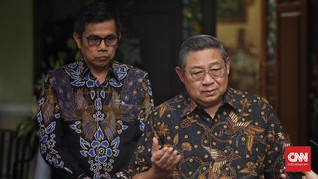 SBY Fokus Garap Buku Ani Yudhoyono, Demokrat Takkan Gelar KLB