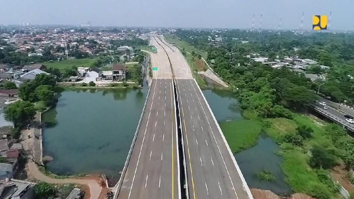 Kementerian PUPR akan membuka ruas tol Cinere - Jagorawi Seksi II (Raya Bogor - Kukusan) sepanjang 5,5 Km dapat dilalui fungsional.