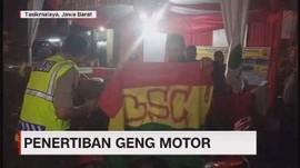 VIDEO: Penertiban Geng Motor