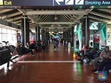 Duh, Gara-Gara Tiket Mahal, Penumpang di Bandara Turun 20%