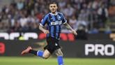 Atletico Madrid dan Inter Milan dikabarkan sedang melakukan pembicaraan kemungkinan pertukaran pemain antara Alvaro Morata dengan Mauro Icardi. (REUTERS/Alberto Lingria)