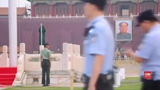 VIDEO: Pemerintah China Jaga Ketat Lapangan Tiananmen