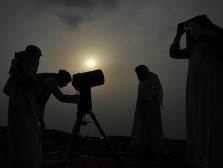 Di RI Baru Rabu, Arab Saudi Rayakan Idul Fitri Hari Ini