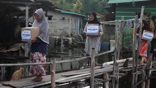 Paket Pangan Tepian Negeri ACT Bantu Keluarga di Sulsel