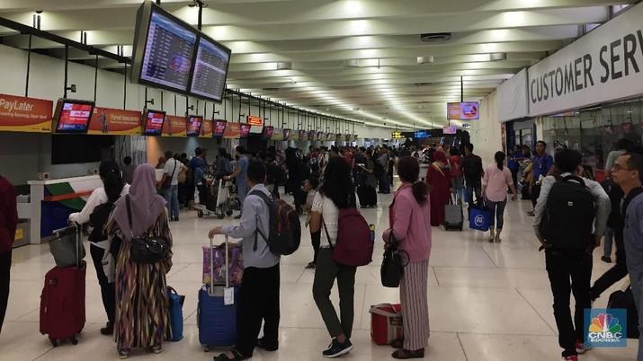 Terminal 4 Bandara Soetta sedang disiapkan.