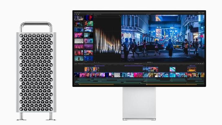 Mirip Parutan Keju, Dudukan Monitor Apple Mac Pro Dicibir