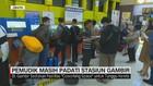 VIDEO: Pemudik Masih Padati Stasiun Gambir
