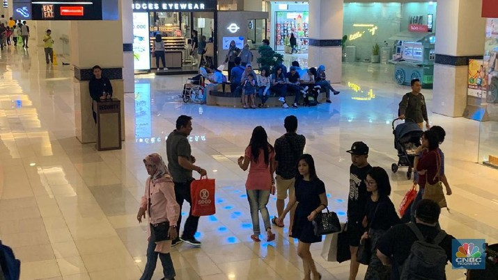 Suasana Mal Kota Kasablanka (CNBC Indonesia/Lynda Hasibuan)
